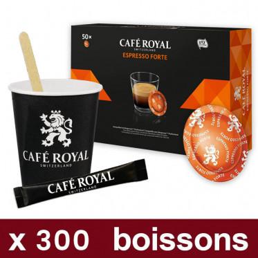 Capsule Nespresso PRO Compatible Café Royal Office Pads - Ristretto - 50 capsules