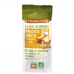 Fruits Secs Ethiquable Mélange grillé Sans sel - Bio - 120g