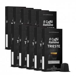 Capsule Nespresso Compatible café Il Caffe Italiano - Trieste - 100 capsules