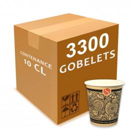 Gobelet en Carton 10 cl - par 100 - Etnik