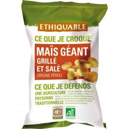 Fruits Secs Ethiquable Maïs géant grillé et salé - Bio - 100g