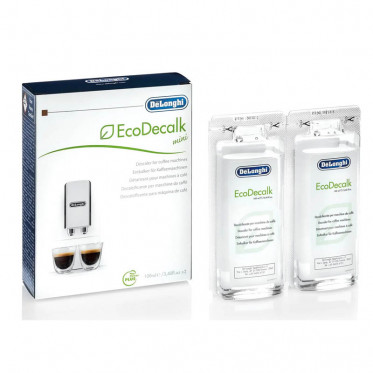 Produit détartrant Ecologique DeLonghi : EcoDecalk Mini 2 x 100 ml