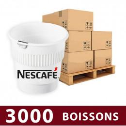 Gobelet Pré-dosé au Carton Café Nescafé Espresso Non Sucré - 3000 boissons