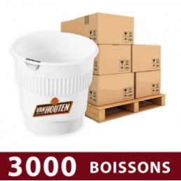 Gobelet Pré-dosé Chocolat chaud Van Houten - 3000 boissons