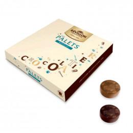 Pochette de Papillotes Révillon : Ballotin de palets chocolats - 265 gr