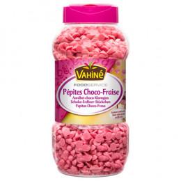Topping Pépites Choco-Fraise - Vahiné Food Service - 600g