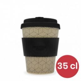 Mug en Bambou écologique, avec couvercle - Ecoffee Cup Bonfrer - 35 cl