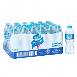Pack bouteille d'eau 50cl Nestlé Pure Life x24
