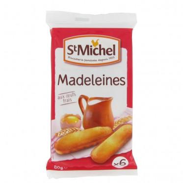 Biscuit : St Michel Madeleines longues - par 6