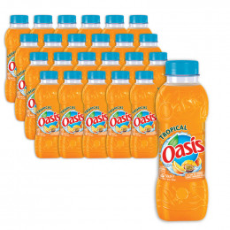 Pack bouteille jus de fruit 50cl Oasis Tropical x24