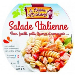 Salade Italienne - Thon, fusilli, petits légumes et compagnie + Fourchette