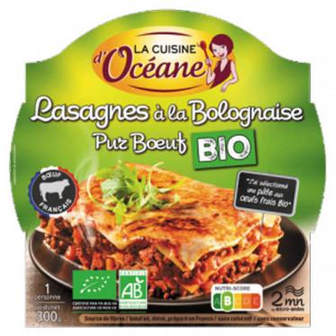 Lasagnes à la Bolognaise Pur Boeuf BIO + Fourchette