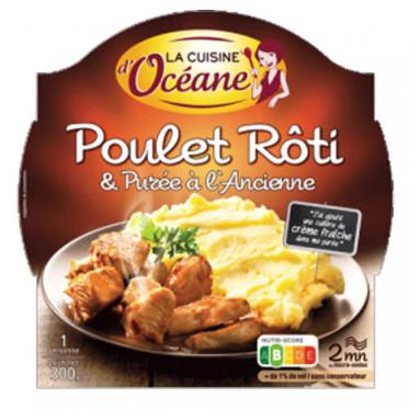 Poulet Rôti & Purée à l'Ancienne + Fourchette