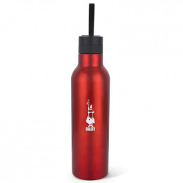 Thermos Bouteille isotherme avec anse - Rouge - Bialetti 50 cl