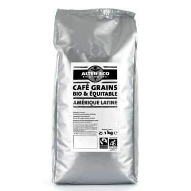 Café en Grains Alter Eco Amérique Latine - 1 Kg