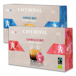 Capsule Nespresso PRO Compatible Café Royal Office Pads - Espresso BIO - 50 capsules