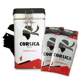 Tasse en verre Cafés Corsica : Espresso 8 cl - par 4
