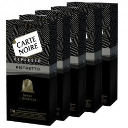 Capsule Nespresso Compatible Carte Noire Ristretto-10 boites - 100 Capsules