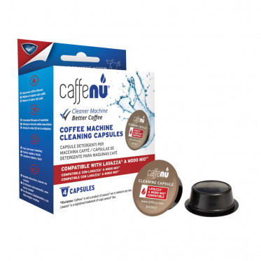 Capsules de nettoyage pour Machine à café Lavazza a Modo Mio - Caffenu - 4 capsules