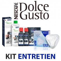 Kit entretien Machine à café DOLCE GUSTO - Nettoyage, détartrage, filtre à eau