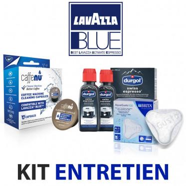 Kit entretien Machine à café Lavazza Blue - Nettoyage, détartrage, filtre à eau