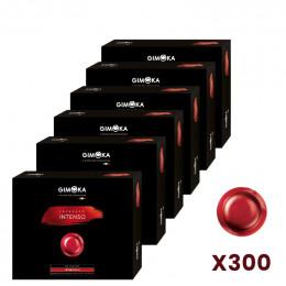Capsule Nespresso PRO Compatible Gimoka Intenso - 6 boite - 300 capsules