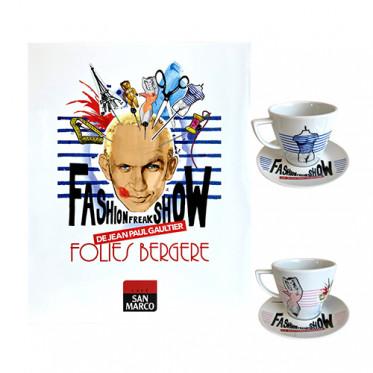 Coffret 2 tasses Jean Paul Gaultier