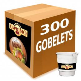 Café Gobelets Pré-Dosés au Carton Caprimo Café Noisette - par 300