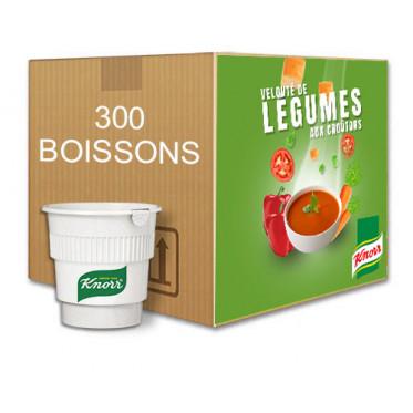 au Carton Potage Knorr Velouté Légumes aux Croutons