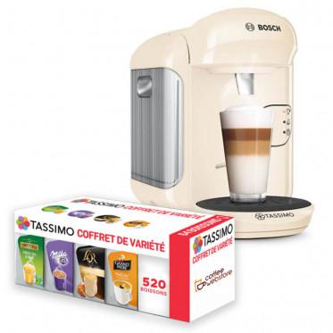 Machine Tassimo Vivy Crème Vanille : Bosch TAS1407