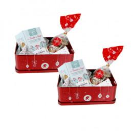 Coffret cadeau : la corbeille de Noël Monbana - 280 gr