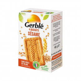 Biscuits diététiques Gerblé Pocket Soja Orange - 56g