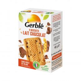 Biscuits diététiques Gerblé Pocket Lait Chocolat - 56g