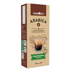Capsules Nespresso compatible - compostable - Gimoka Crema - 10 capsules