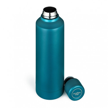Gourde Isotherme 0.5L Ecoffee Cup - Bleu