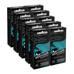 Capsules Nespresso compatible Lavazza Lungo Intenso Eco Caps - 100 capsules