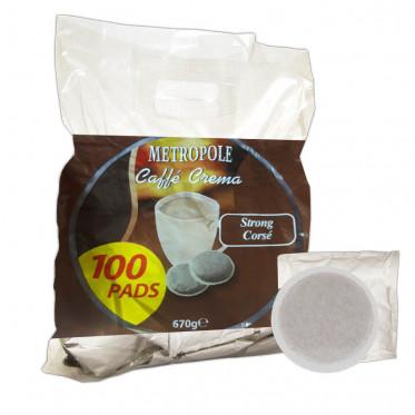 Dosette Souple pour machine Senseo - Café Corsé - 100 Pads
