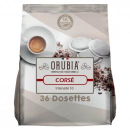 Dosette souple Orubia Corsé– 1 paquet – 36 pads