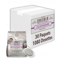Dosette souple Orubia Classique – 10 paquets – 360 pads