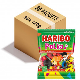 Haribo Polka - 1 sachet de 120g