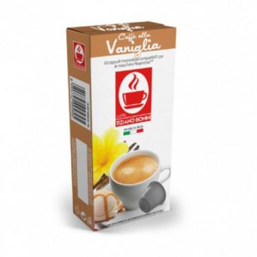 Capsules Nespresso compatible Bonini Café à la Vanille - 10 capsules