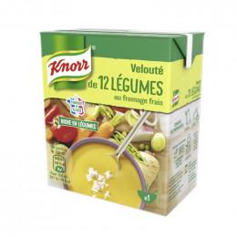 Repas Express Knorr Soupe Velouté 12 légumes Fromage Frais - 30 cl