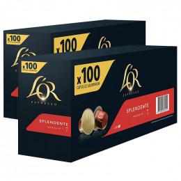 Capsule Nespresso Compatibles L'Or Espresso Splendente - 10 boîtes - 200 capsules