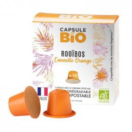 Capsules Nespresso compatible - biodégradable et compostable - Thé Vert Bio - 10 capsules