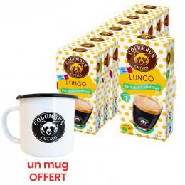 Capsule Nespresso Compatible Café Lungo - Columbus Café - 10 capsules