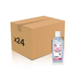Gel hydroalcoolique Bactimains 100 ml EN14476 - 24 flacons