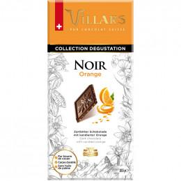 Tablette de chocolat noir 72% de cacao Bio et Equitable - Villars - 80 gr