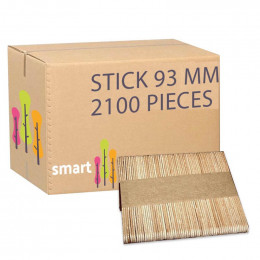 Touillette (spatule) en bois de hêtre 93 mm - par 2100