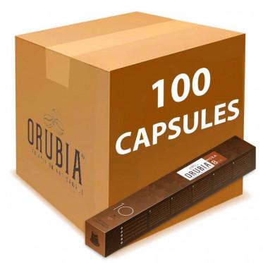 Capsules Nespresso Compatibles Orubia Moka - 10 tubes - 100 capsules