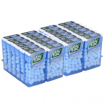 Tic Tac Menthe - 24 boites